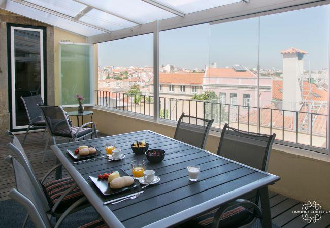 Apartment in Lisboa - Graça Terrace 18 by Lisbonne Collection