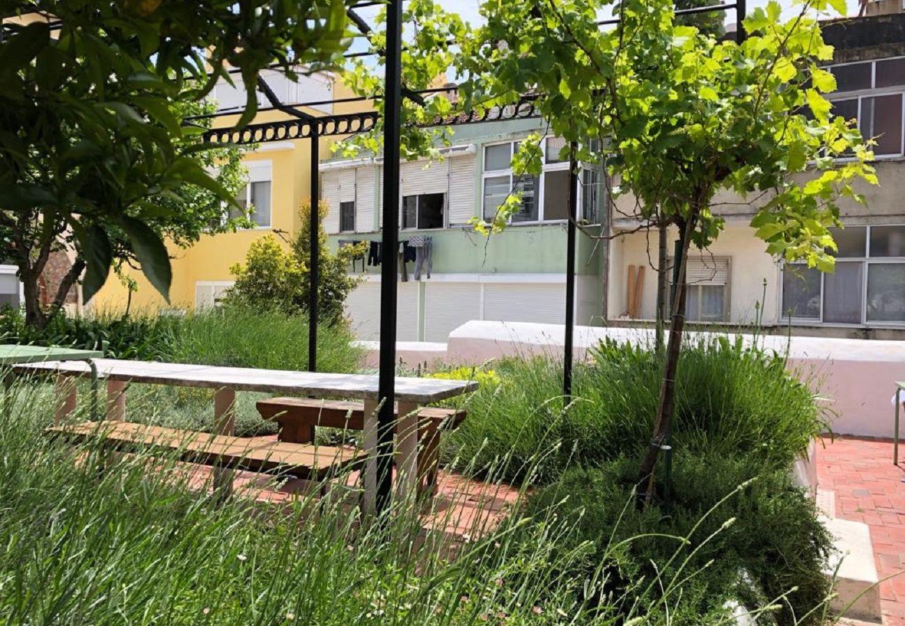 Studio in Lisbon - Terrace River View Studio Apartment 28 by Lisbonne Collection