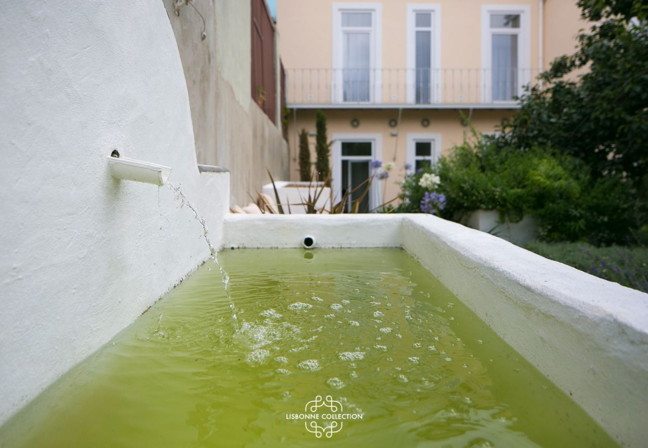Fountain of a prestigious and luminous studio rented by Lisbonne Collection