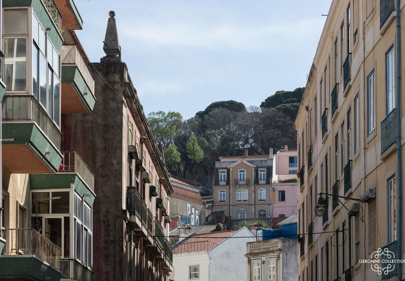 Historic and emblematic district of Graça in Lisbon in Portugal