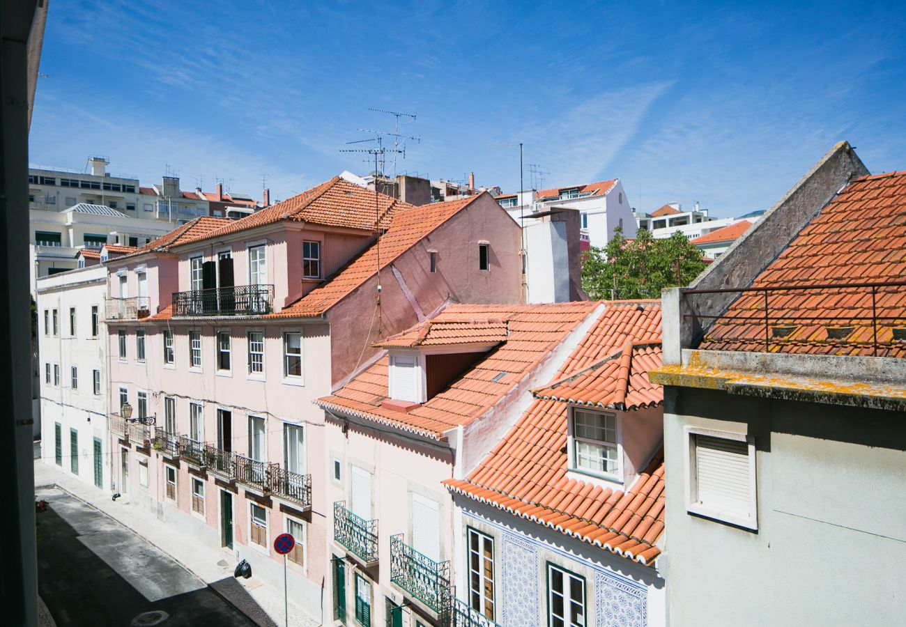 Splendid view of Lisbon and its 7 hills for holidays