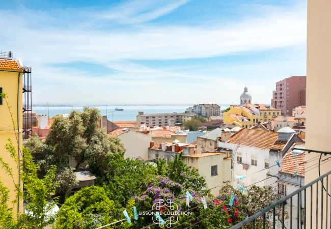 Apartment in Lisboa - Graça River View with Balcony 47 by Lisbonne Collection