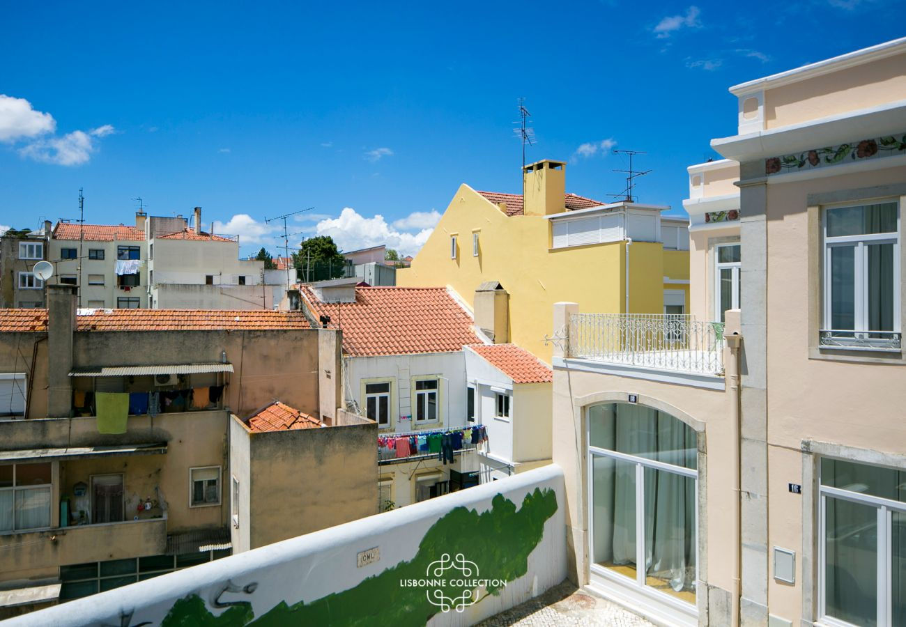 View of the rental apartment available in the Portuguese capital