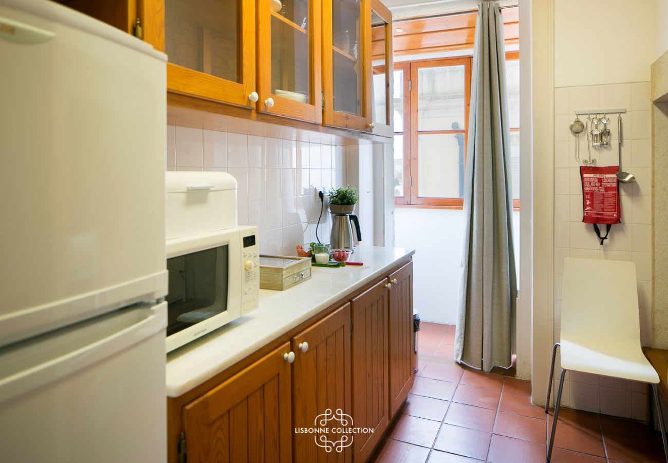 Nice and spacious kitchen in the heart of the Portuguese capital