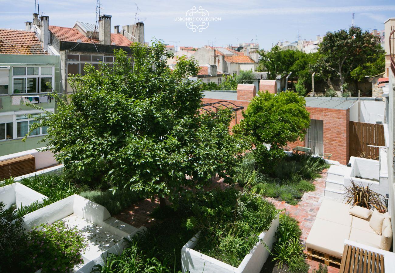 Garden for rent in the historic center of Lisbon