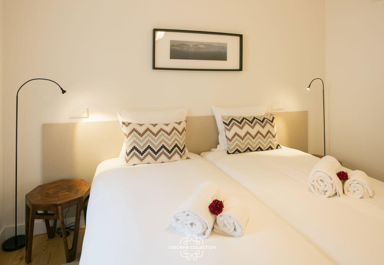 Segundo quarto do apartamento disponível para alugar
