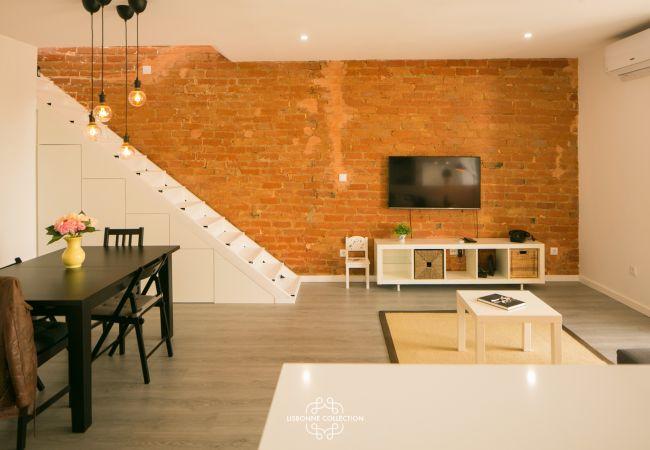 Apartment in Lisboa - Penha de França Trendy Duplex With Terrace 74 by Lisbonne Collection