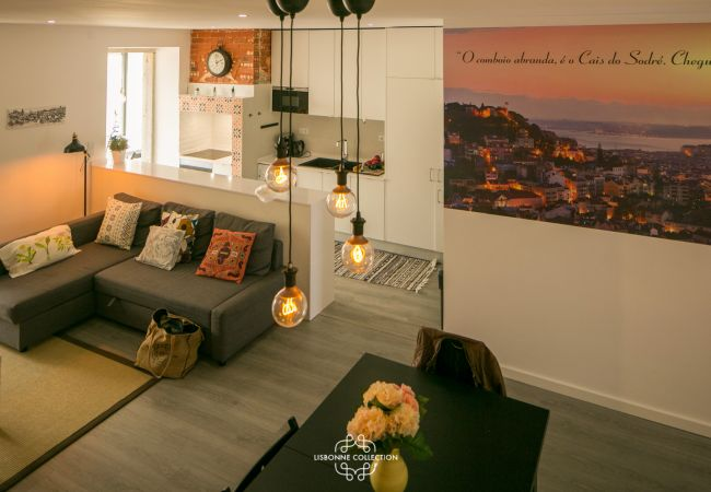 Apartment in Lisbon - Penha de França Trendy Duplex With Terrace 74 by Lisbonne Collection